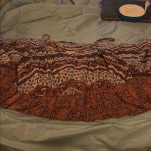 Woman's Mossimo summer sleeveless dress
